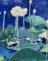 lotus 1: study in blue