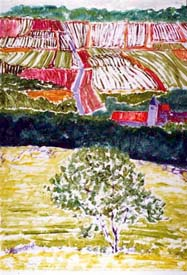 412. Near Troyes 1_monotype 50 x 36.5 med?
